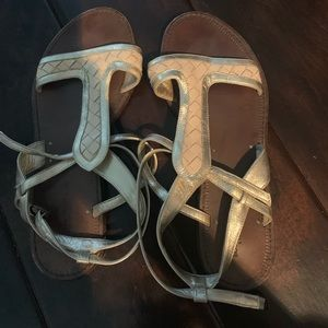 Bottega Veneta gladiator sandals